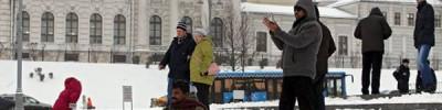 Синоптики рассказали, сколько снега выпало в Москве за минувшую ночь