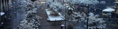 В Неаполе впервые за 60 лет выпал снег