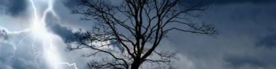 Британка сняла на видео падение неизвестного предмета с неба во время грозы