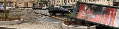 Парк Горького в Москве закрыли из-за штормового предупреждения