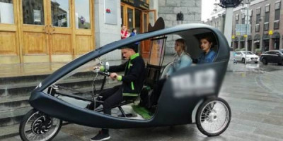 По городу на велотакси. В Москве появятся новые экскурсионные маршруты