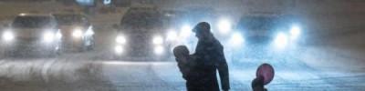 В Москве из-за снегопада и похолодания объявили экстренное предупреждение