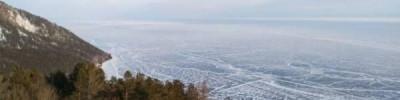 МЧС просит туристов воздержаться от прогулок по льду на южной части Байкала