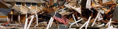 Шторм «Барри» в американском штате Луизиана достиг силы урагана