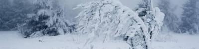 В горах Якутии выпал снег