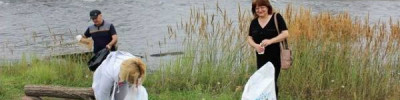 В Амуре в Хабаровске обнаружили пятна нефтепродуктов