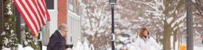 Из-за снежной бури в Нью-Йорке закрывают школы
