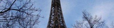 В Париже из-за урагана «Элеанор» закрыли Эйфелеву башню