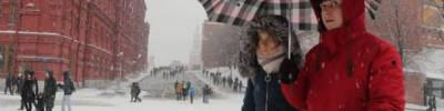 Жителей Москвы предупредили о сильном ветре и снегопаде в ближайшие часы