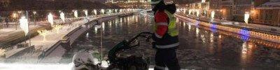 Воскресный снегопад в Москве побил рекорд по количеству осадков
