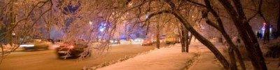 В Москве ночь на 23 февраля оказалась самой холодной с начала зимы