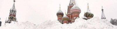 В Москве уже выпало снега вдвое больше нормы февраля