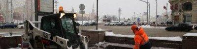 Более миллиона кубометров снега вывезли за сутки со столичных улиц