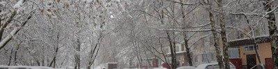 Сильный снег и метель ожидаются 3-4 марта в Центральной России