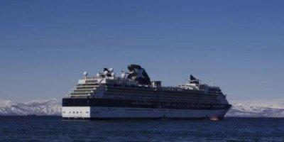 На Камчатку пришел первый в этом сезоне круизный лайнер