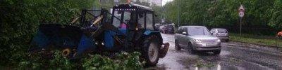 Штормовое предупреждение объявлено в Москве на 12 июня