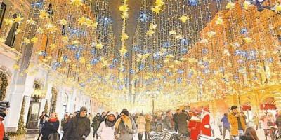 Названы самые популярные города России для встречи Нового года