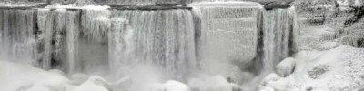 В США из-за сильных морозов замерз Ниагарский водопад
