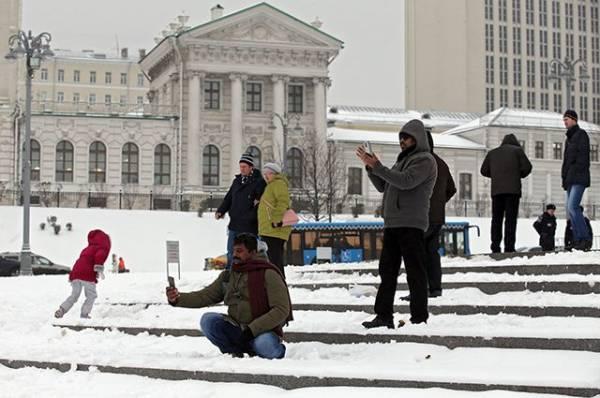 Фото В Москве за сутки выпало 20% месячной нормы осадков
