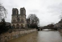 Фото Парижские синоптики заявили, что вода в Сене продолжит подниматься
