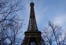 Фото В Париже из-за урагана «Элеанор» закрыли Эйфелеву башню