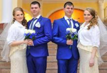 Фото Парный случай. Как братья-близнецы женились на сёстрах-близняшках