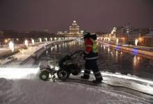 Фото Воскресный снегопад в Москве побил рекорд по количеству осадков