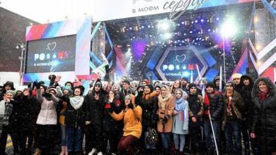 Фото В сердце — Россия. Тысячи человек вышли на митинги в честь своей страны