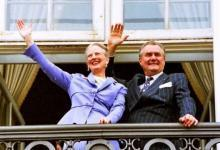 Фото Умер 83-летний супруг королевы Дании