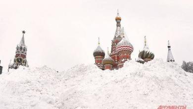 Фото В Москве уже выпало снега вдвое больше нормы февраля
