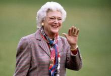 Фото Лучшая из Бушей. В США скончалась бывшая «первая леди» Барбара Буш