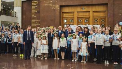 Photo of Голубая лента России. В Музее Победы состоялся экологический флешмоб