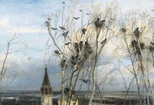 Фото Скворцы и грачи вернулись в Москву после зимовки
