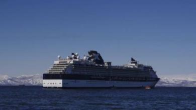 Фото На Камчатку пришел первый в этом сезоне круизный лайнер