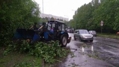 Фото Штормовое предупреждение объявлено в Москве на 12 июня