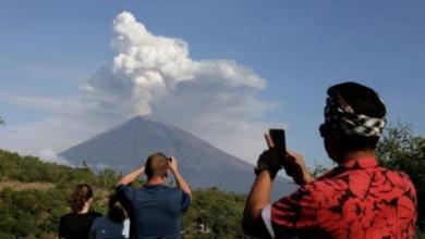 Фото Ростуризм предупредил россиян об активизации вулкана на Бали