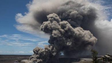 Фото Вулкан на Гавайях засыпал остров драгоценными камнями