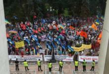 Photo of У здания Верховной рады Украины начался митинг шахтеров