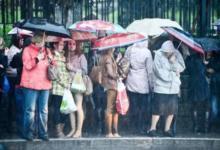 Фото Москвичей предупредили о затяжном дожде и сильном ветре