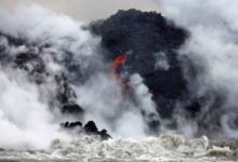 Фото Один из Гавайских островов исчез после урагана «Валака»