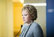 Фото Матвиенко: антисемитизма и ксенофобии в России нет