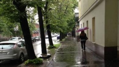 Фото Атмосферное давление в Москве приблизилось к рекордно низкому с 1992 года