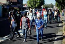 Photo of В США отправился четвертый караван мигрантов из Сальвадора