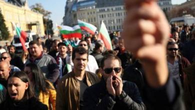 Фото Жители Болгарии вышли на акции протеста против высоких цен