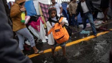 Фото Группа мигрантов на границе Мексики и США объявила голодовку