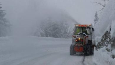 Фото Австрию и Германию накрыли рекордные в XXI веке снегопады