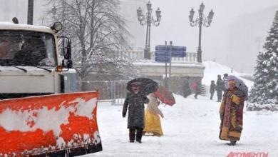 Фото Москвичей предупредили о сильном снегопаде на последней неделе марта