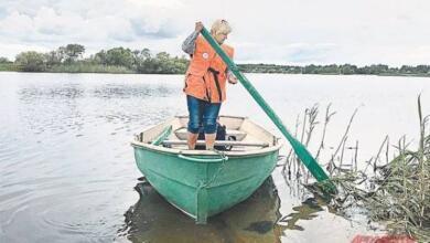 Photo of Почтальон с веслом. Как доставляют письма на Рыбинском водохранилище?