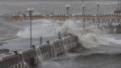 Фото Штормовое предупреждение объявлено в Приморье из-за тайфуна «Данас»