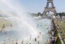 Фото Во Франции впервые в истории зафиксировано 46 градусов жары